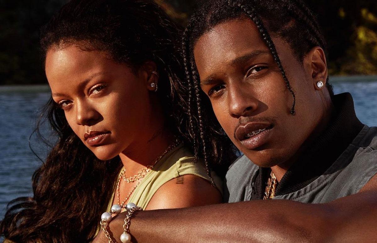 Rihanna y A$AP Rocky reviven rumores de romance porque él protagoniza Fenty  Skin