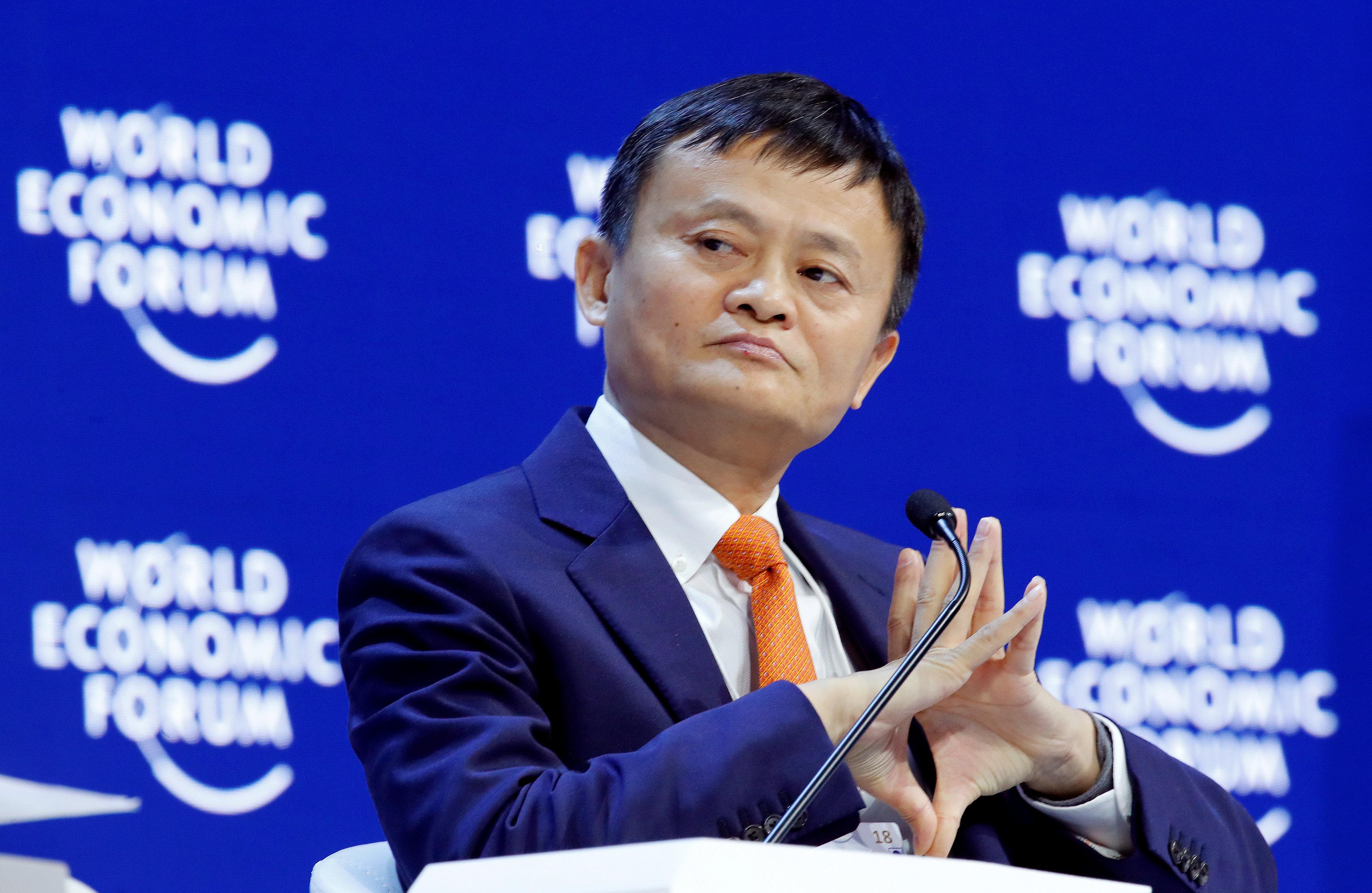 Las acciones de Alibaba bajan tras el anuncio del retiro de Jack Ma