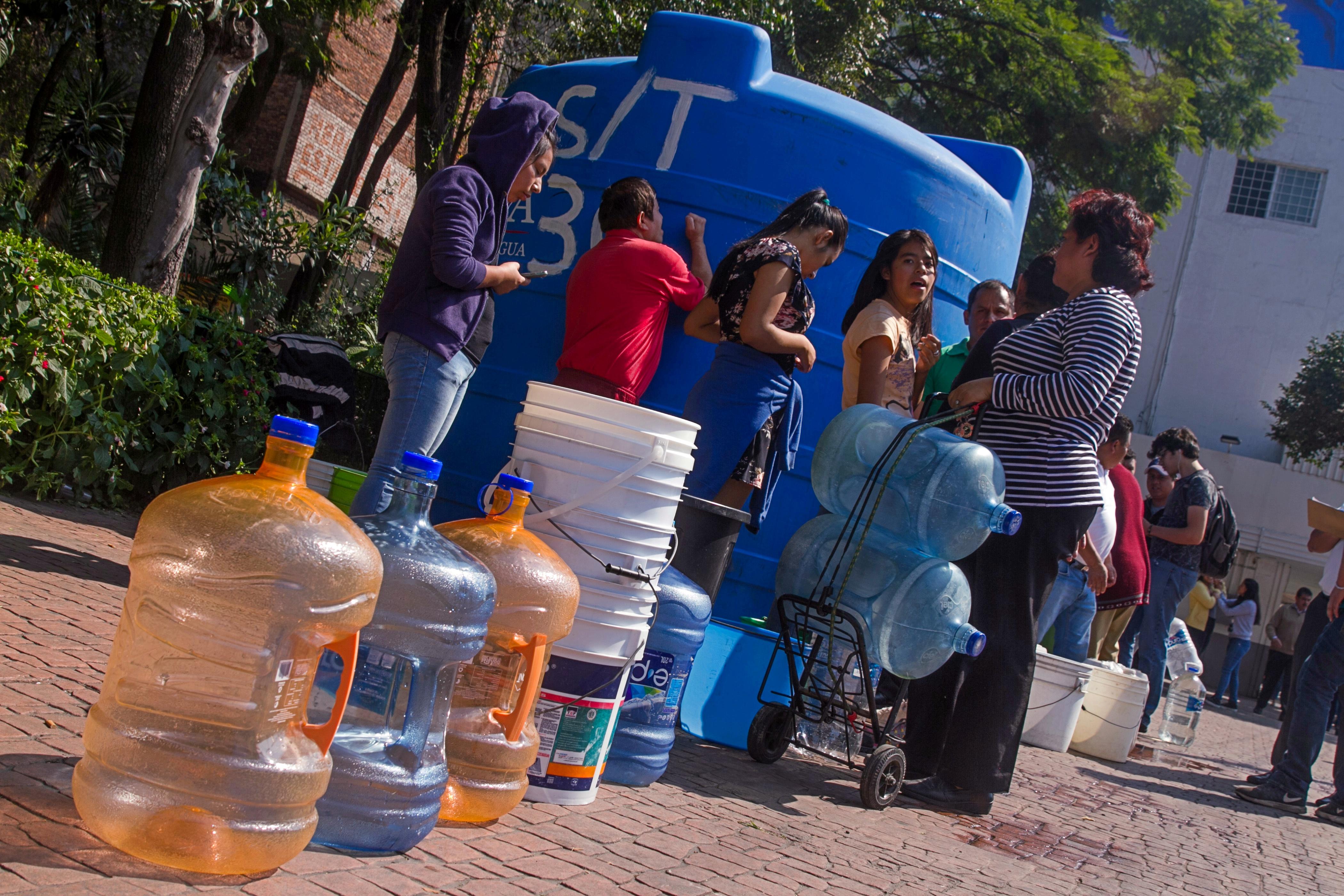 CDMX: 3 de cada 10 tienen problemas de escasez de agua