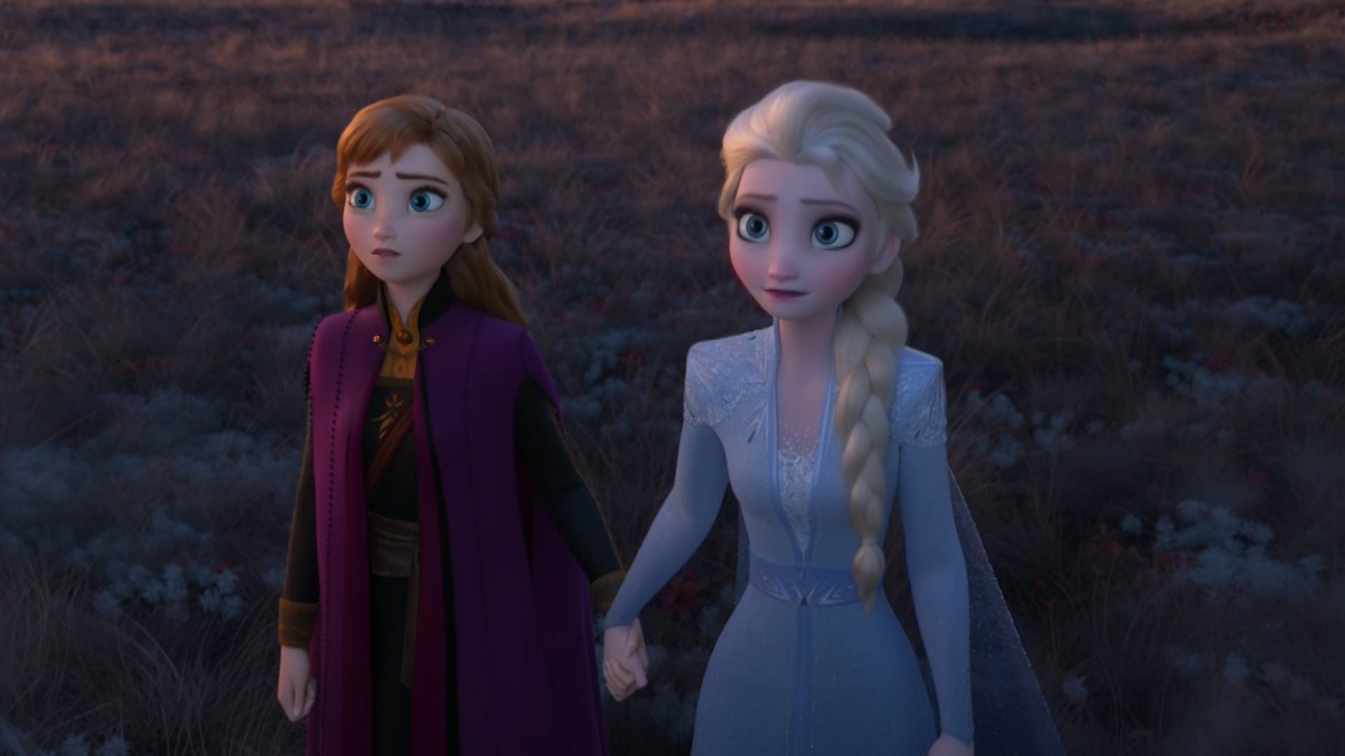Elsa y Anna en Frozen II