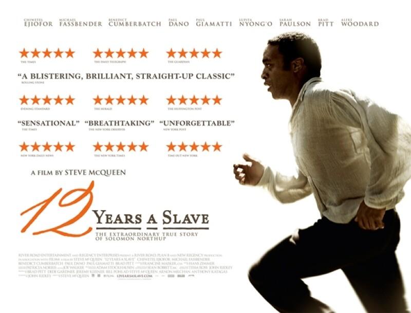 12 Years a Slave, posible ganadora del Oscar a Mejor Película.
