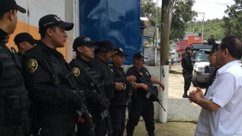 policias federales, estado de mexico, edomex, valle de bravo