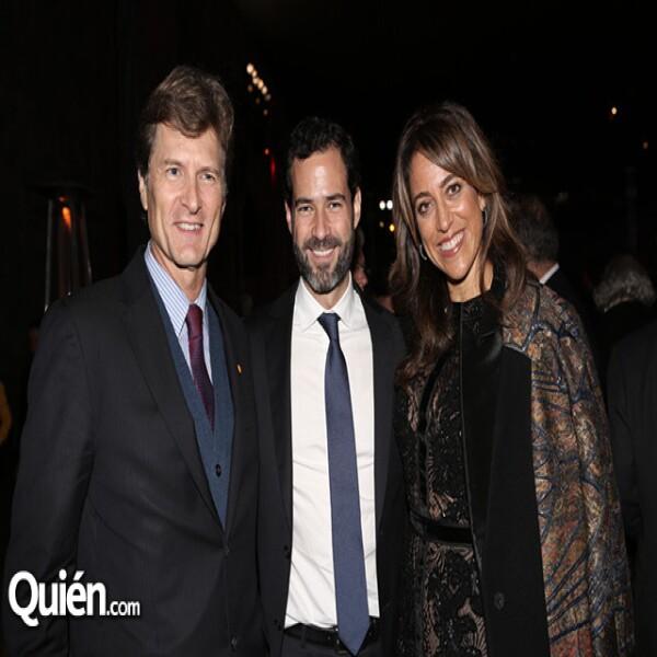 Enrique de la Madrid,Emiliano Salinas,Fabiola de la Madrid