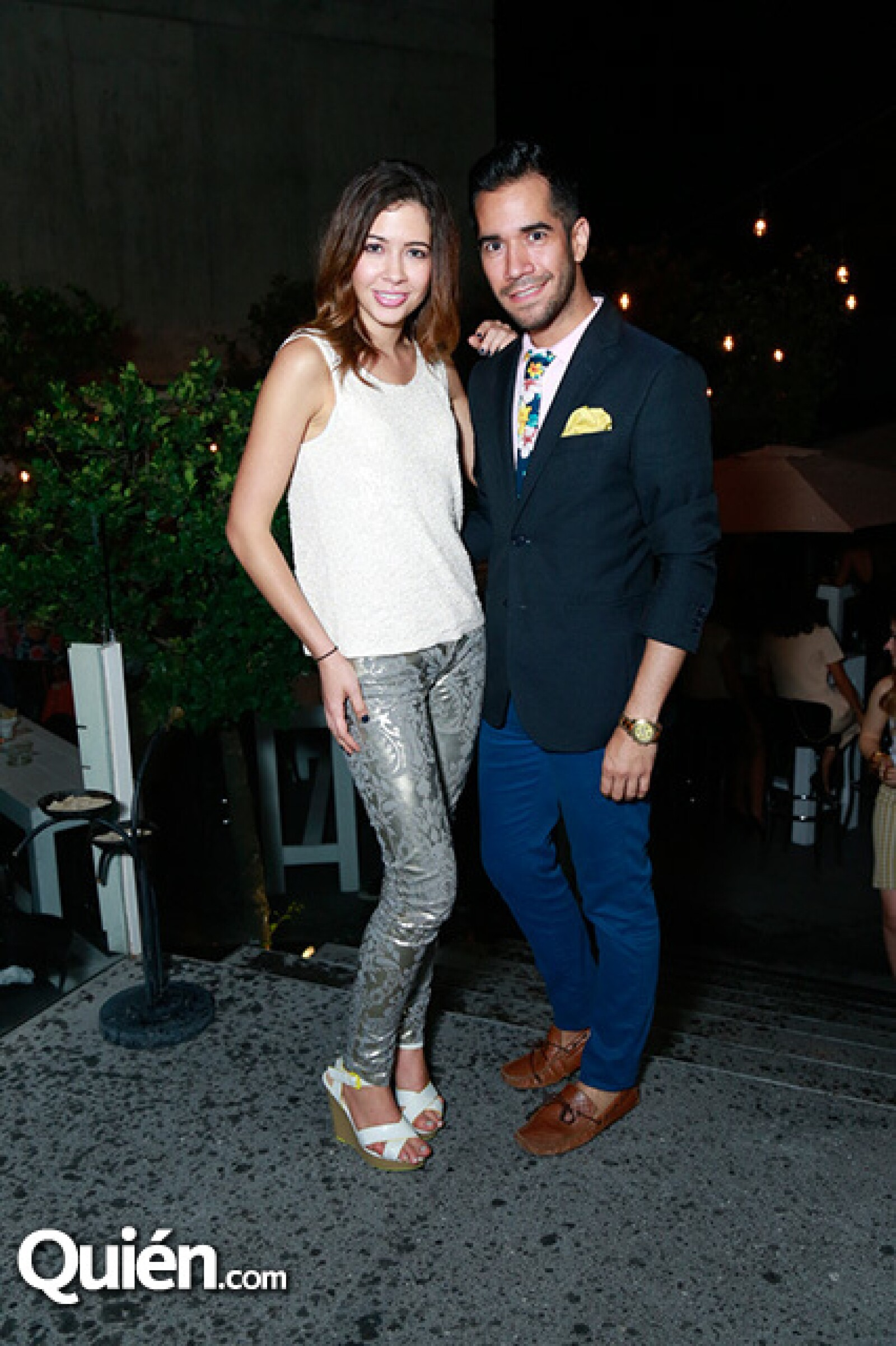 Denisse Tamez y Shalim Alemán