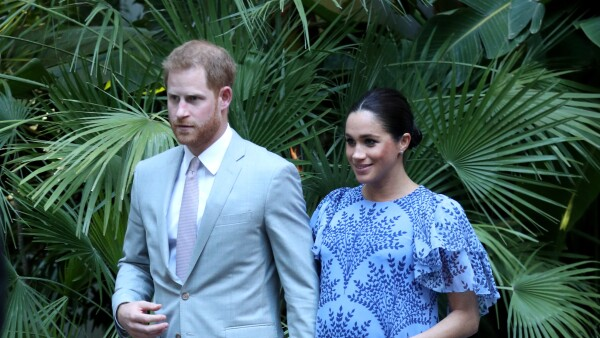 Meghan y Harry en Marruecos
