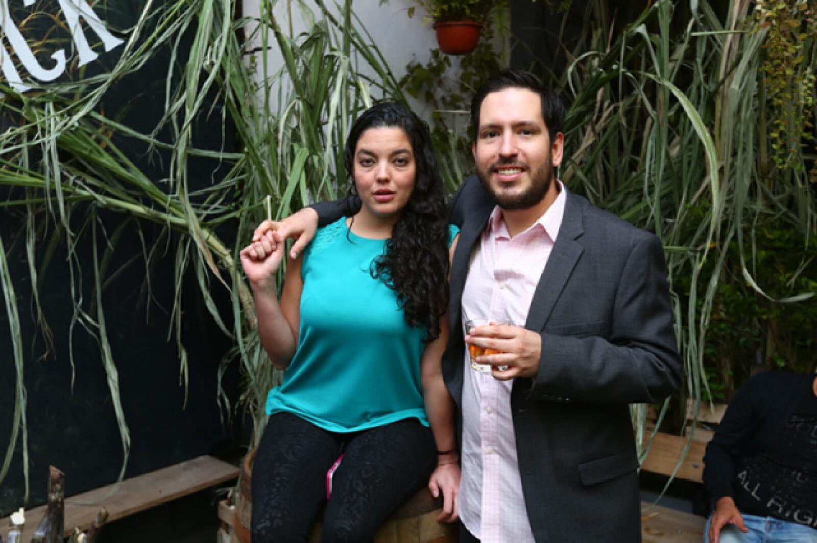 Greta Dumas y Rodrigo Aja