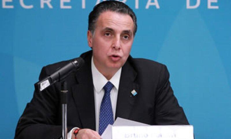 El secretario de Economía, Bruno Ferrari, explicó que ya hizo la solicitud de intervención a la Organización Mundial del Comercio. (Foto: Notimex)
