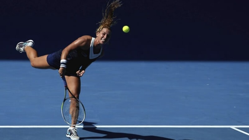 La tenista eslovaca Dominika Cibulkova