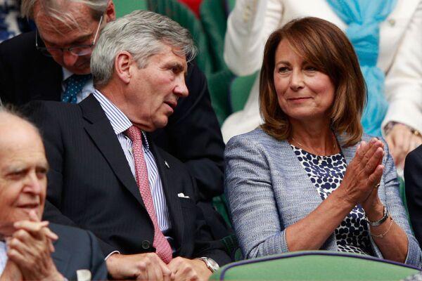 Michael y Carole Middleton