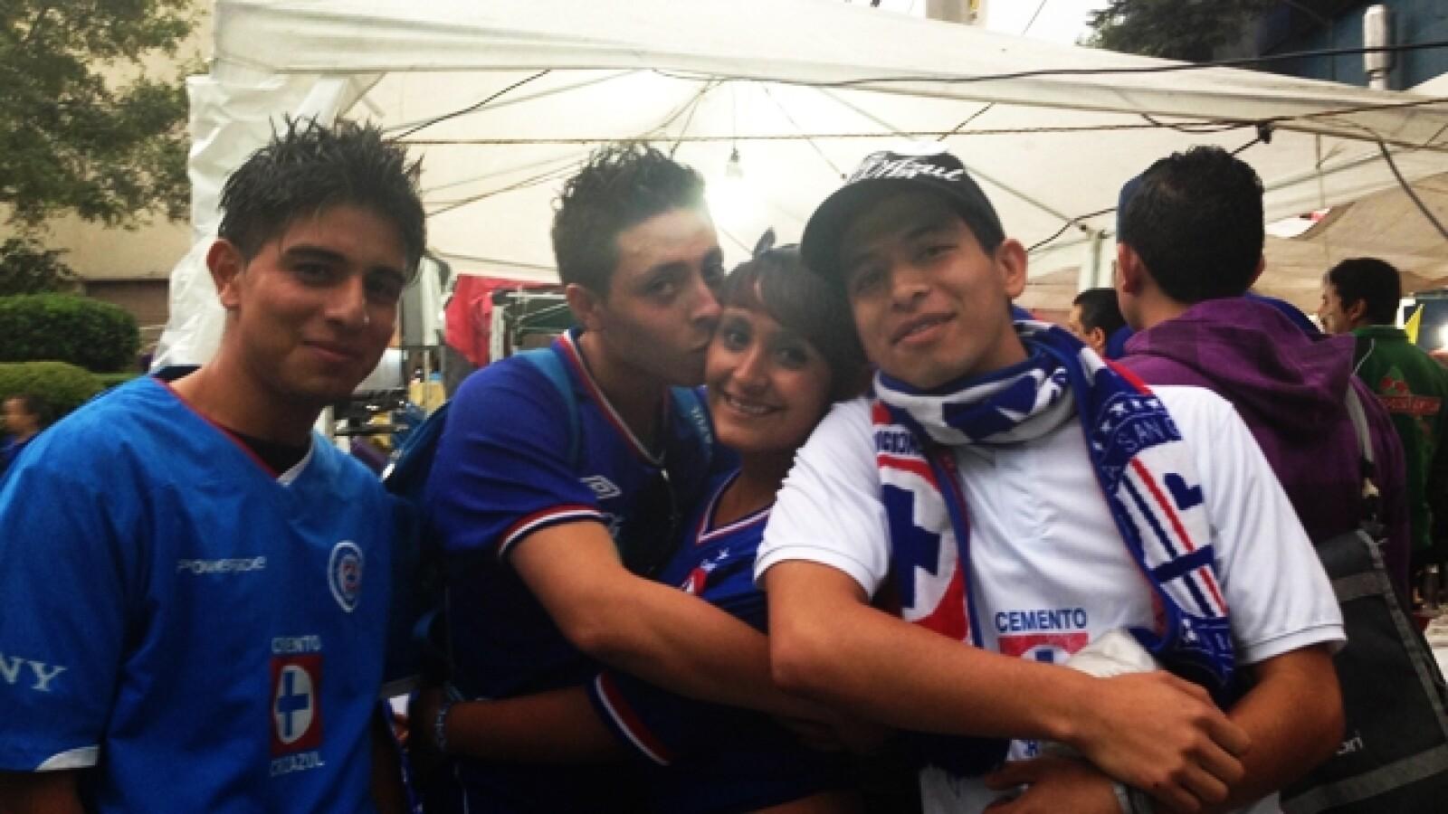 aficion Cruz Azul partido ida