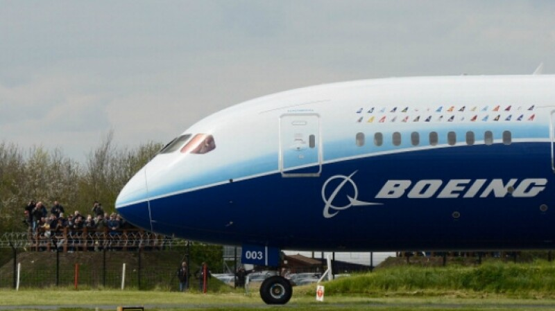 avion boeing dreamliner