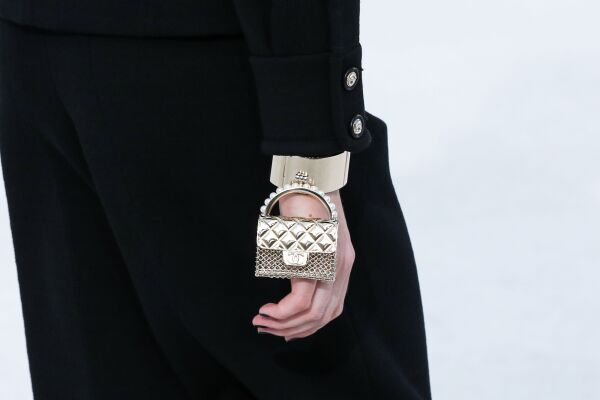 Chanel show, Detail, Spring Summer 2021, Paris Fashion Week, France - 06 Oct 2020