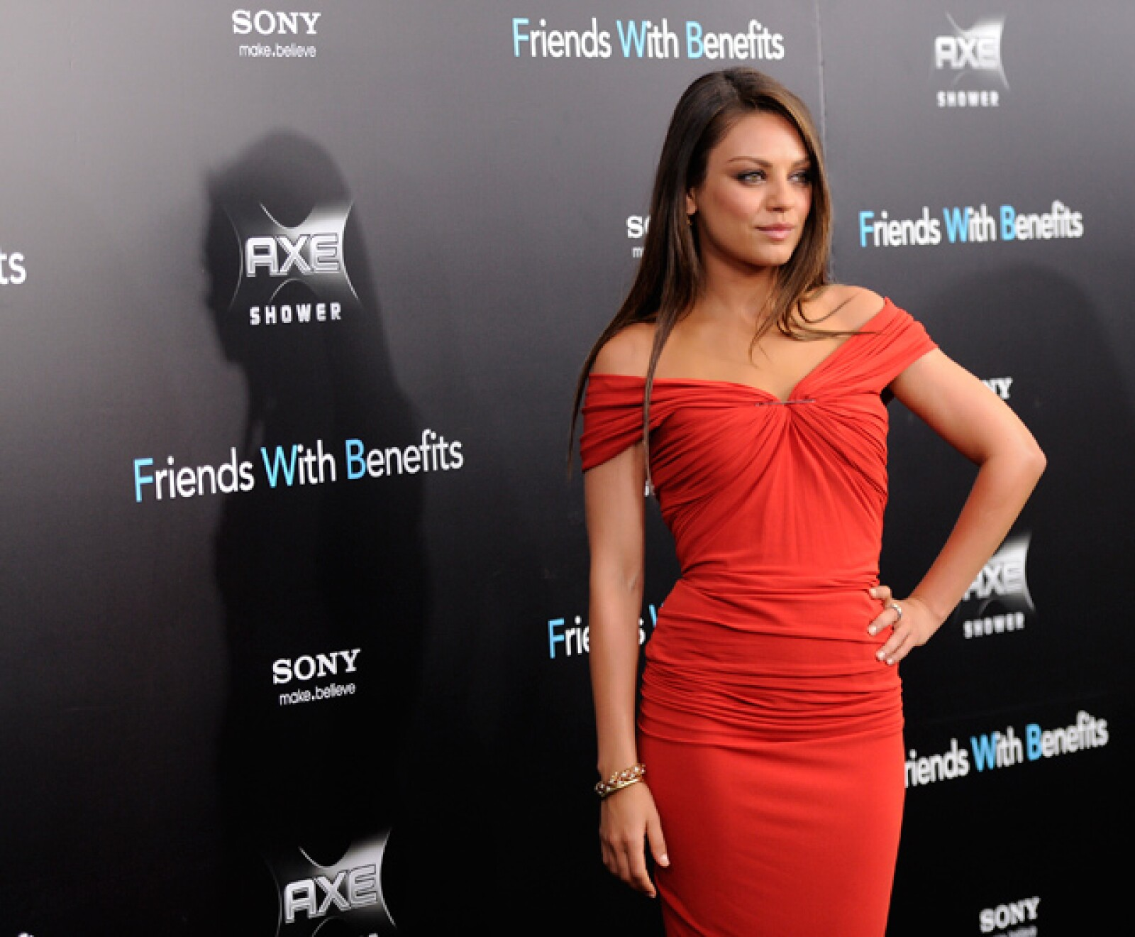 Mila Kunis, ocupó el tercer lugar del ranking de la revista Maxim.