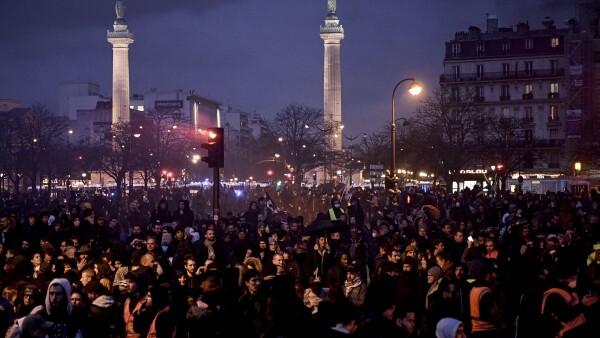 Las manifestaciones han seguido
