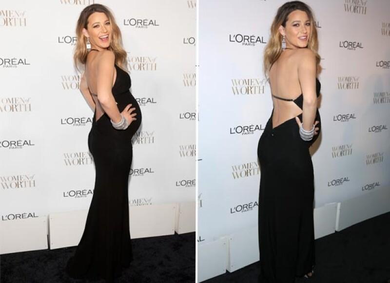 La actriz y su estilo acapararon la atención en la entrega de los premios Annual Women of Worth celebrada anoche en Nueva York.