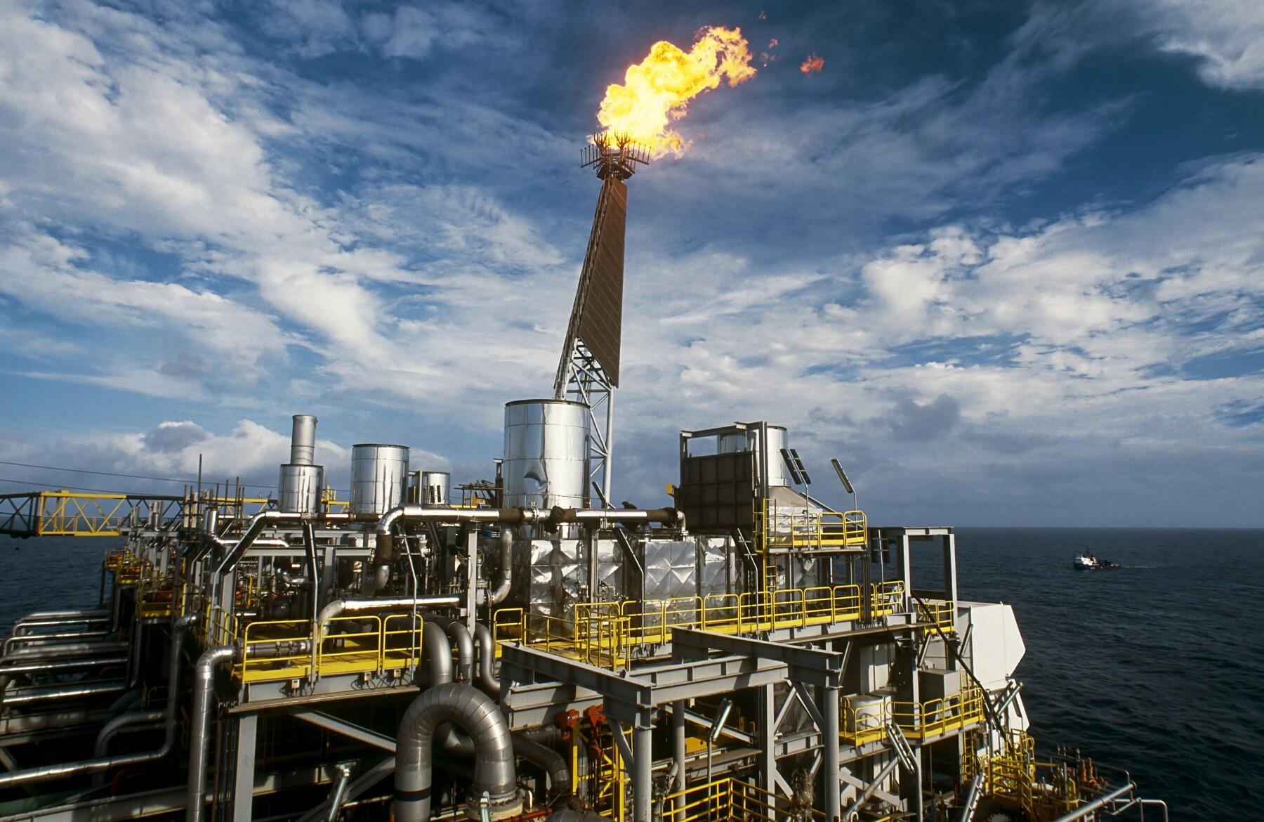 oil production plataform