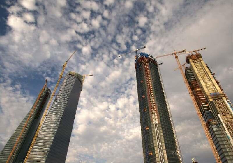 Construyendo rascacielos