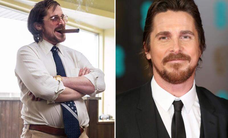 Christian Bale ha cambiado extremadamente en varias ocasiones para sus papeles.