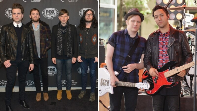 Kings of Leon y Fall Out Boy