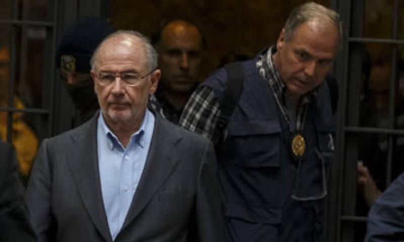 El exdirector gerente del FMI, Rodrigo Rato, también está imputado por estafa, falsedad documental y administración desleal. (Foto: Reuters )