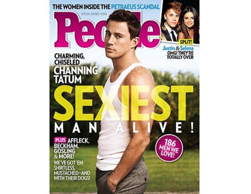 """Como cada año, dicha publicación escoge a un hombre para engalanar su portada y deleitar a millones de mujeres; en esta ocasión es el """"striper"""" de 32 quien se lleva el título del hombre más guapo."""