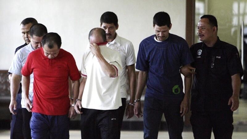 mexicanos Malasia pena de muerte
