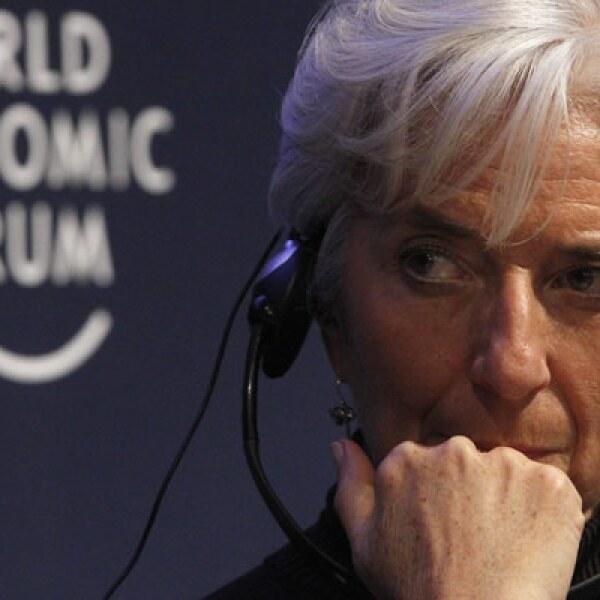 La ministra de Economía de Francia, Christine Lagarde, dijo el 25 de enero que países como EU y México se han opuesto a un impuesto internacional sobre las transacciones.
