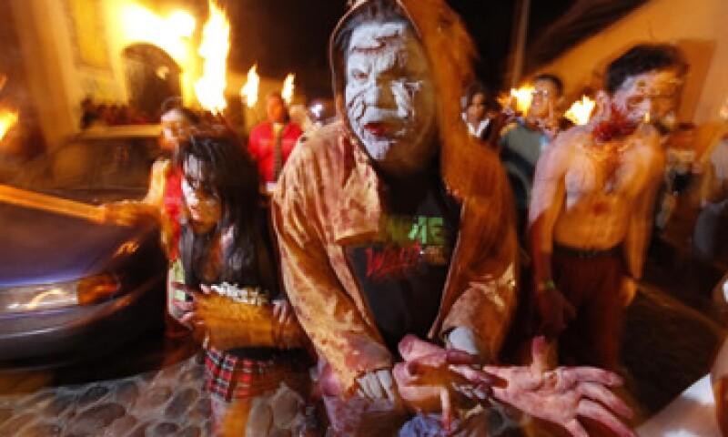 Con ZombieBooth no vas a necesitar una máscara para asustar. (Foto: Notimex)