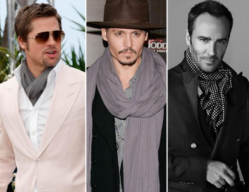 Brad Pitt, Johnny Depp y Tom Ford