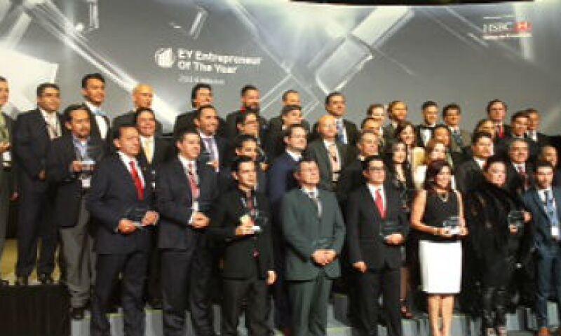 Este año el premio Entrepreneur of the Year de EY, tuvo la mayor participación de emprendedores los últimos cinco años.(Foto: Especial)