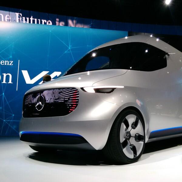La furgoneta futurista