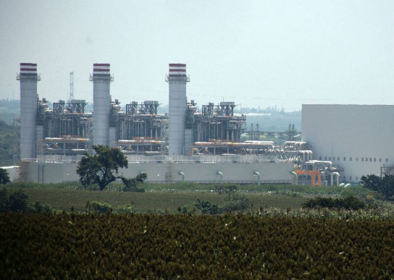 Planta Termoel�ctrica de CFE en Yecapixtla, Morelos