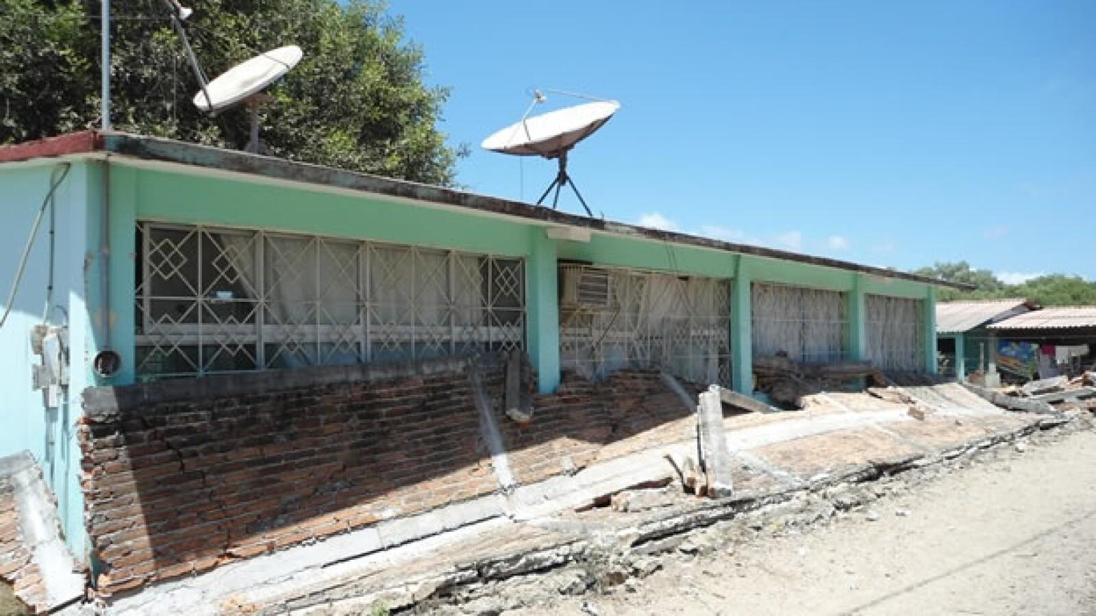 edificios derrumbados por sismo en Guerrero
