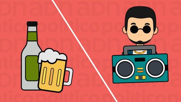 Sin reguetón y sin cerveza