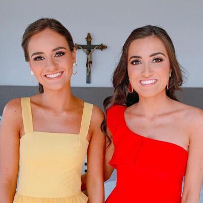 Cristina y Sofía Díaz