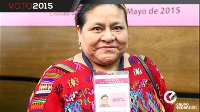 Lider guatemalteca