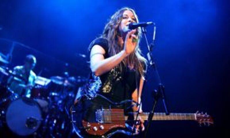 La cantante se presentó ante unas 6 mil personas en el Auditorio Nacional.