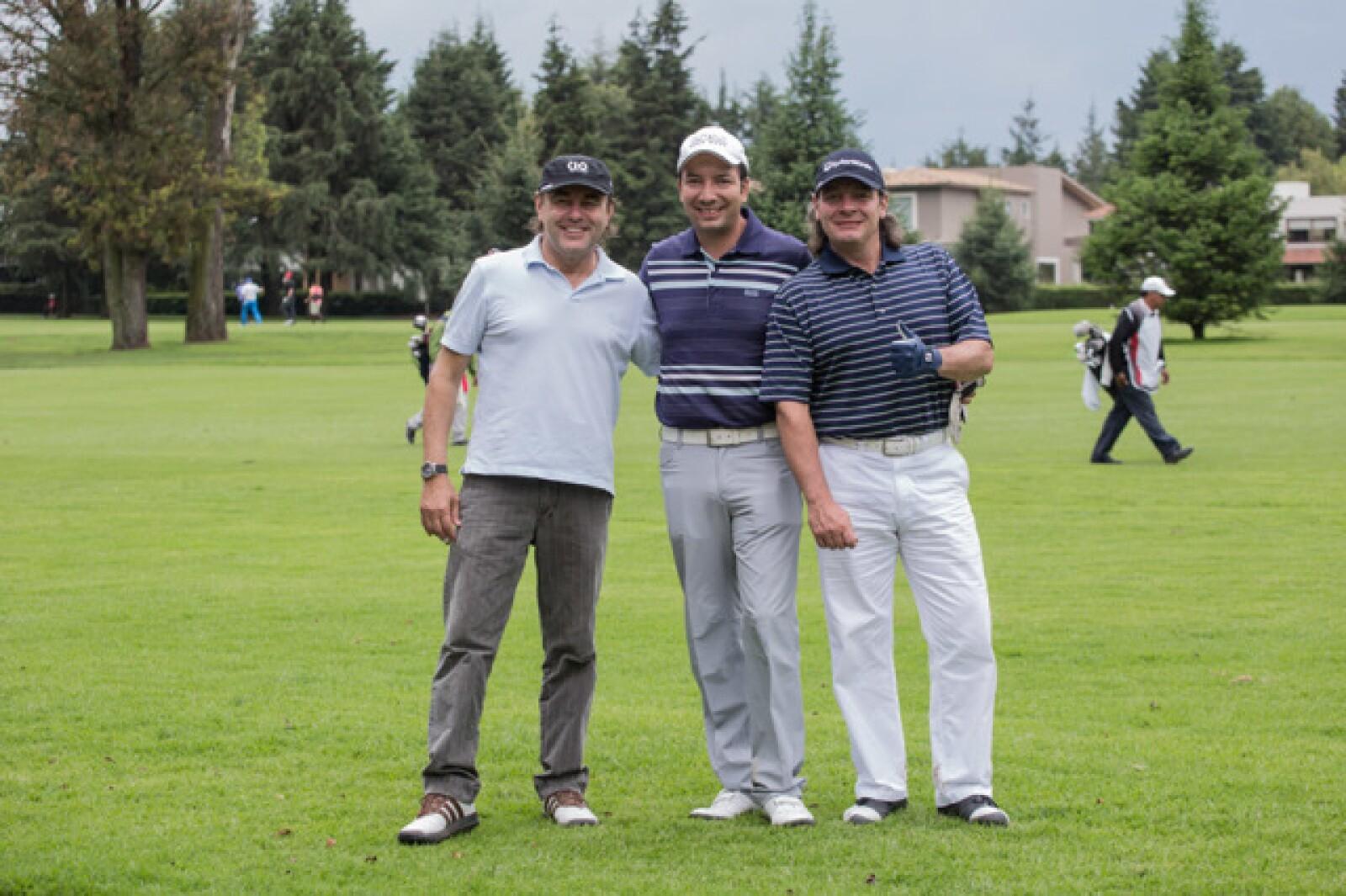 Alberto Dose, Israel Cárdenas y Luis Athie