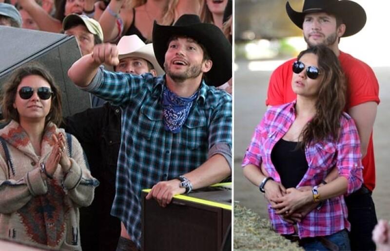 La pareja asistió el festival de Coachella en marzo pasado.