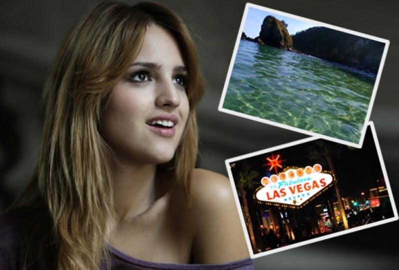 La intérprete no dudó en indicar como su lugar favorito para viajar, la playa de Mazunte en Oaxaca, en donde se relaja y disfruta de los bellos paisajes.