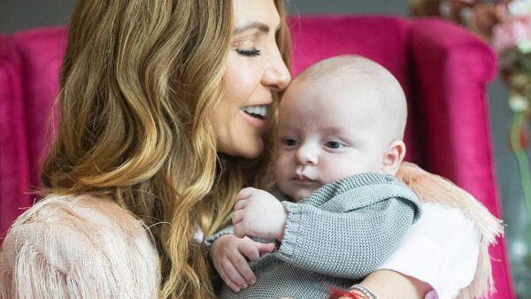 Erika Zaba y su hijo Emiliano