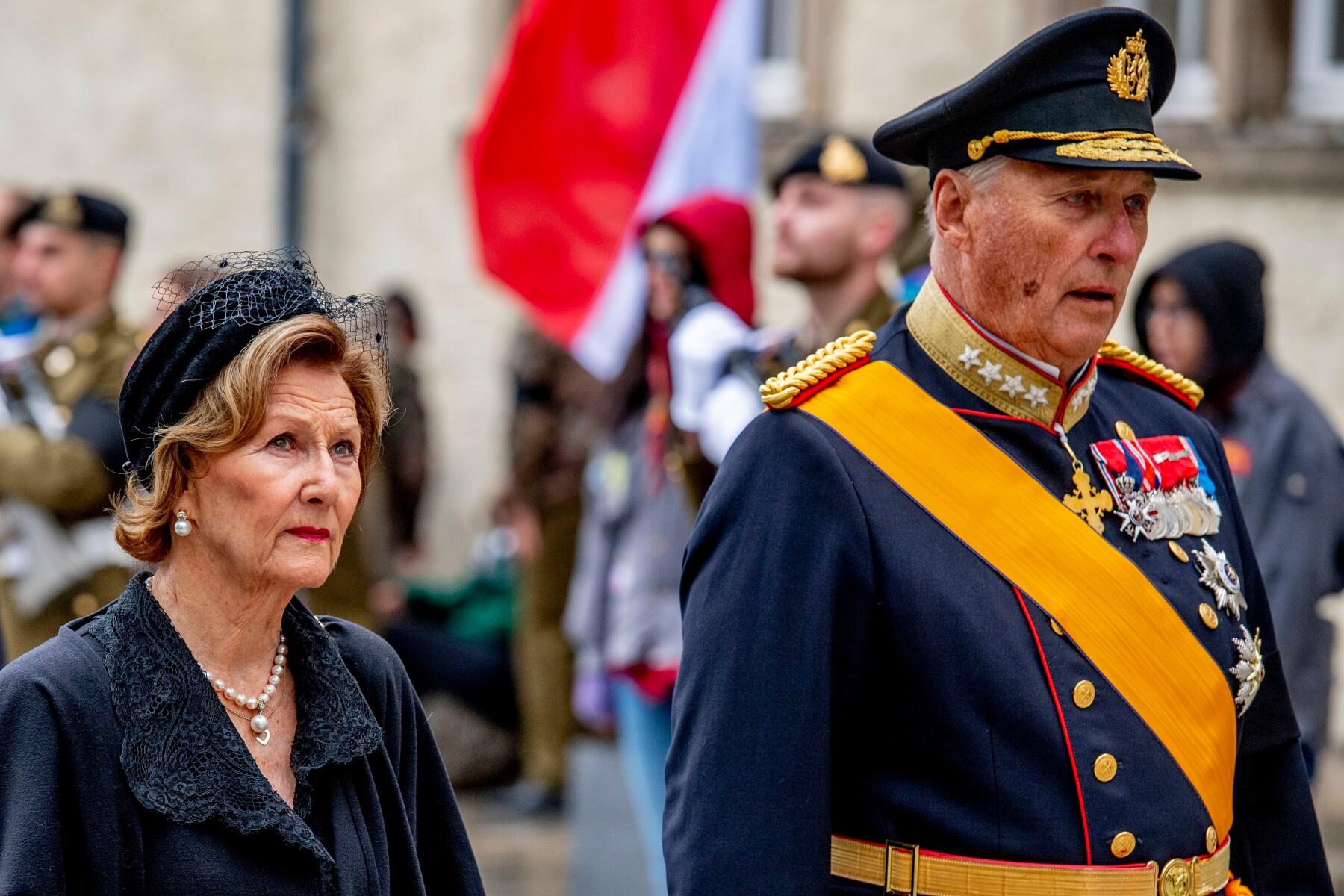 Reina Sonia y el rey Harald de Noruega