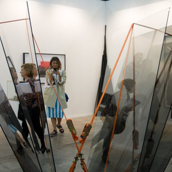 La galería Victoria Miro, de Londres y la de David Zwine, también participan.