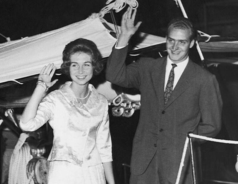 Juan Carlos y Sofía se conocieron en una boda en Londres y el flechazo fue inmediato.