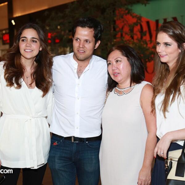 María José Nieto,Guillermo Calin,Lucy Díaz y Deborah Ortega