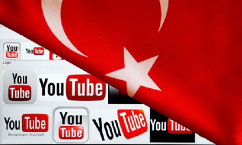 Un tribunal de Ankara ordenó el cierre de YouTube desde el 27 de marzo. (Foto: Reuters)