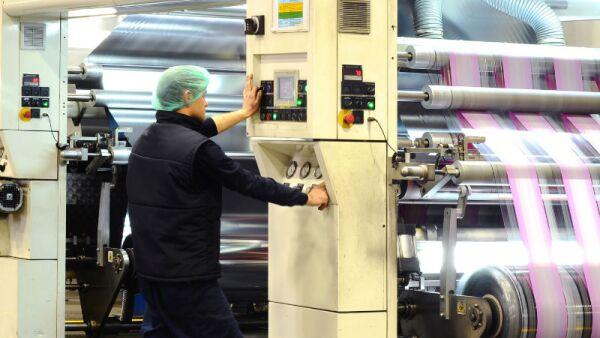 trabajador de imprenta