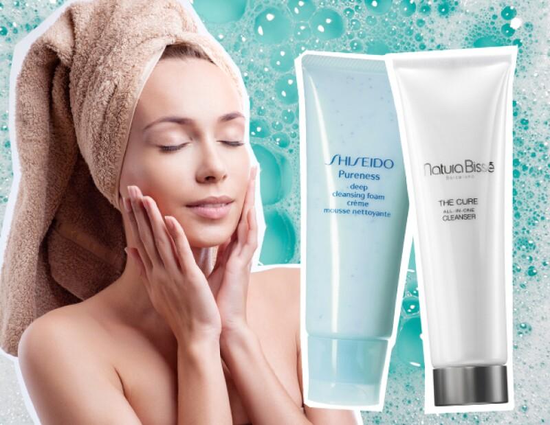 Limpia con más profundidad con productos para tu tipo de piel.