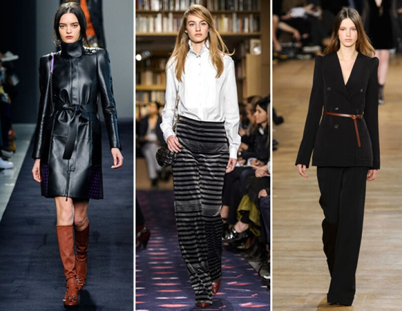 Looks de las pasarelas fall-winter 2015.