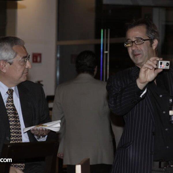 Óscar del Rivero y Andy Levine